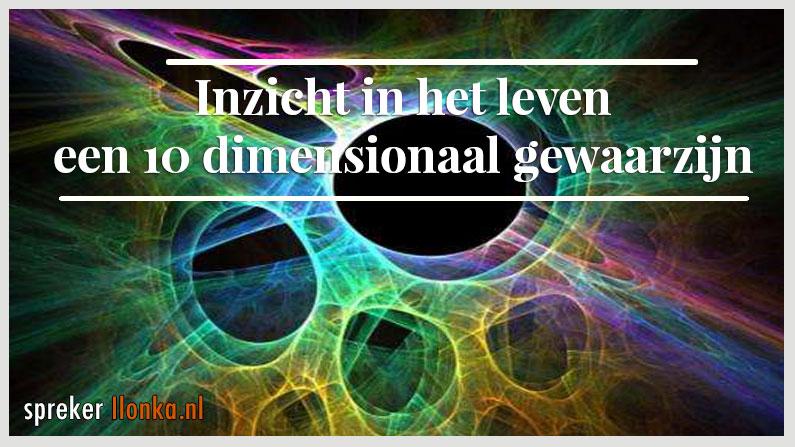 Inzicht in het leven, een 10 dimensionaal gewaarzijn